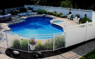 pool fence cost
